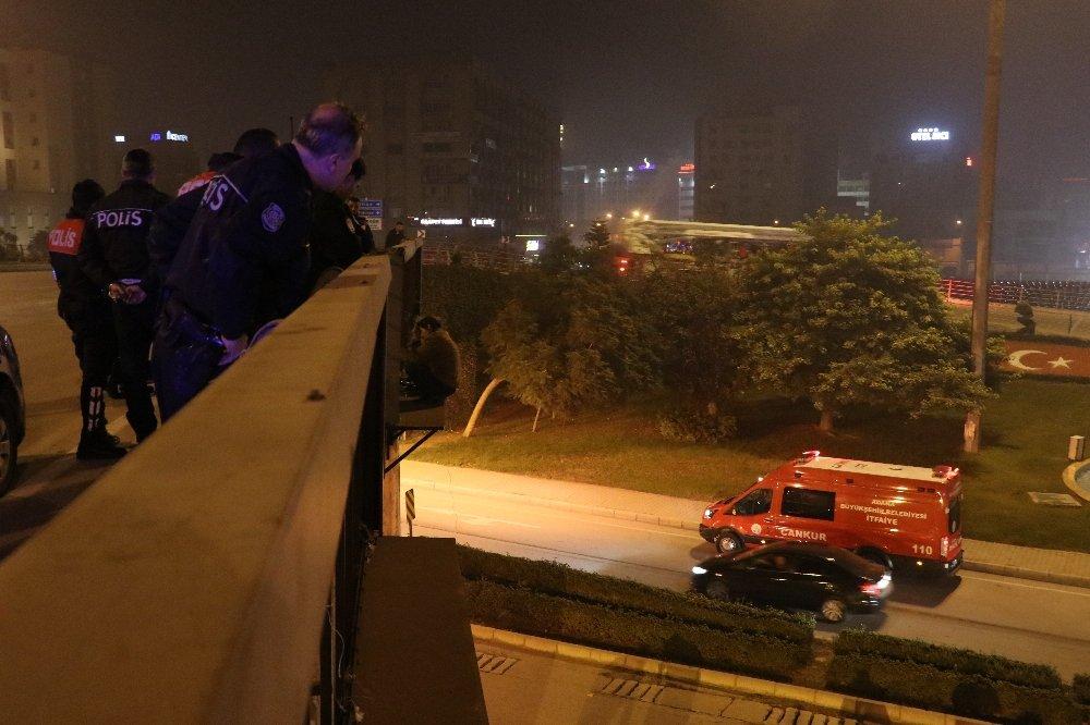 Polis son anda kurtardı