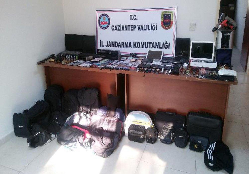 450 suç dosyası bulunan çete çökertildi