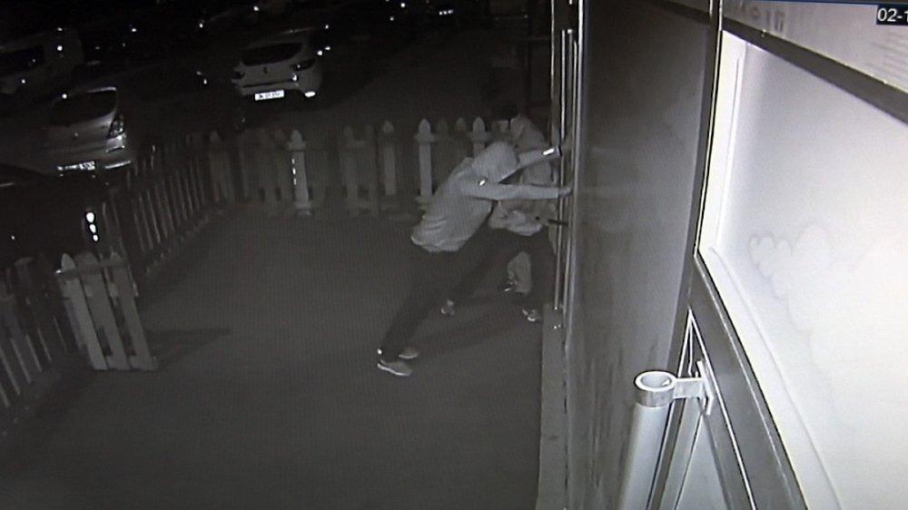 Anaokulu hırsızları kamerada