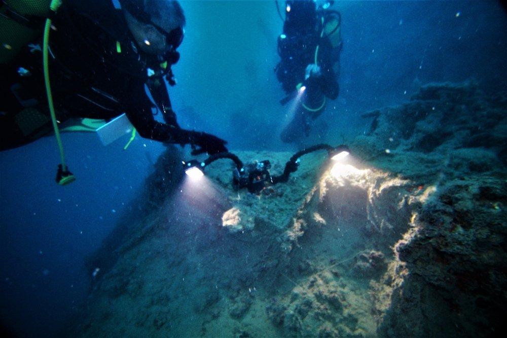 İskenderun Körfezi'nde savaş gemisi batıkları bulundu