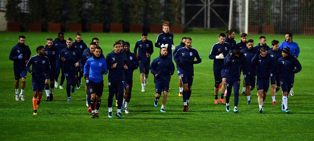 Başakşehir, Braga maçına hazır