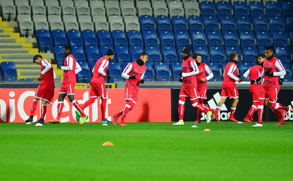 Braga son hazırlıklarını yaptı