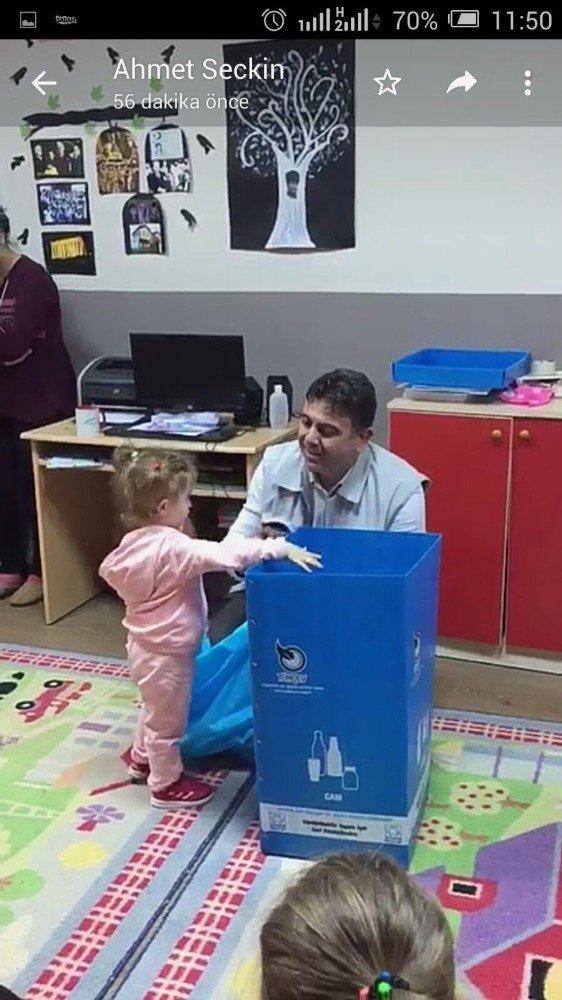 Körfez Belediyesi, anaokulu öğrencilerini bilinçlendiriyor