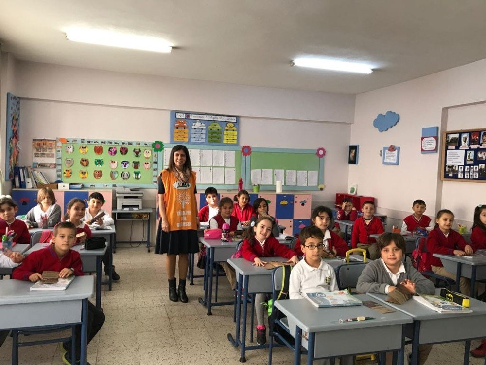 Çevre eğitimlerine Tema'dan destek