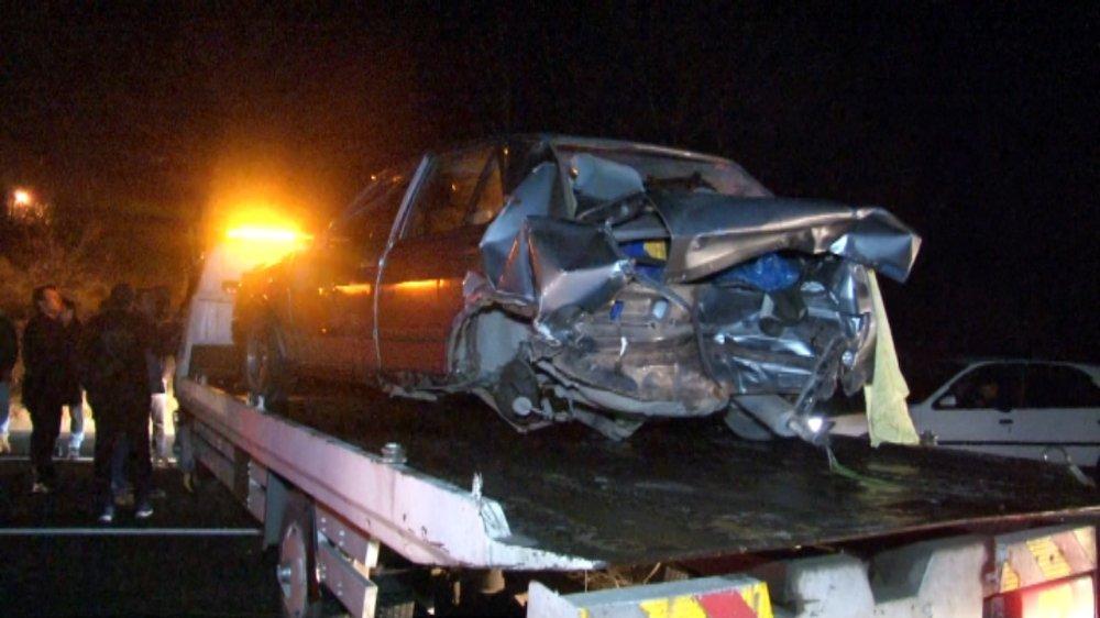 Sürekli kaza olan yol vatandaşları isyan ettirdi