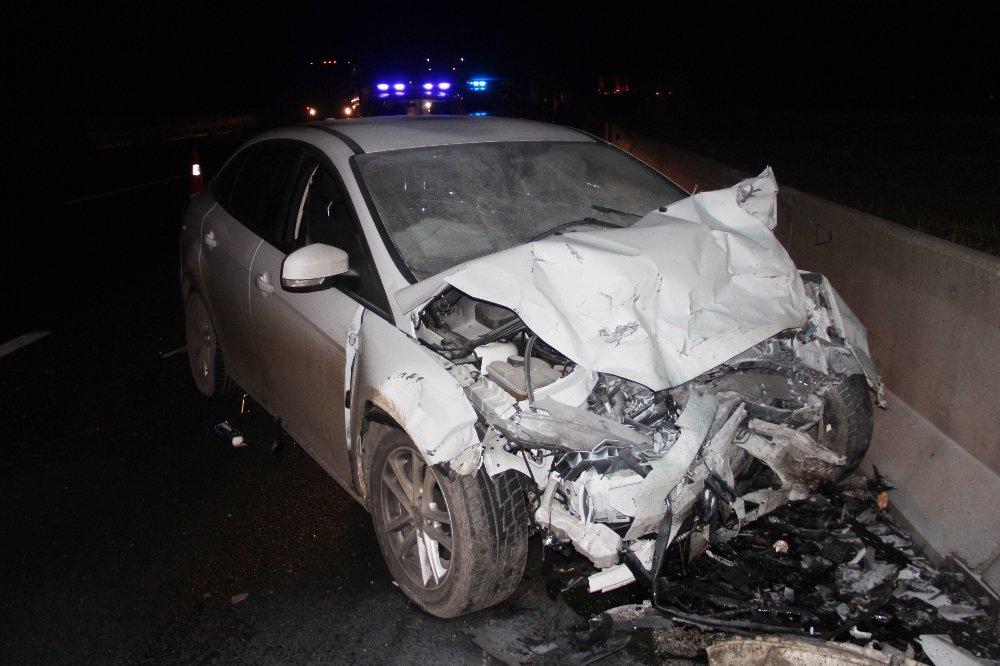 Bolu'da zincirleme kaza: 3 yaralı