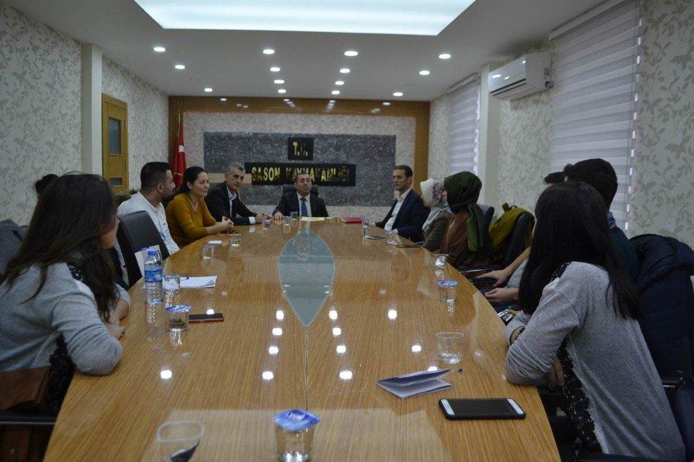 Sason'da 'Lise Öğrencilerini Topluma Kazandırma' projesi