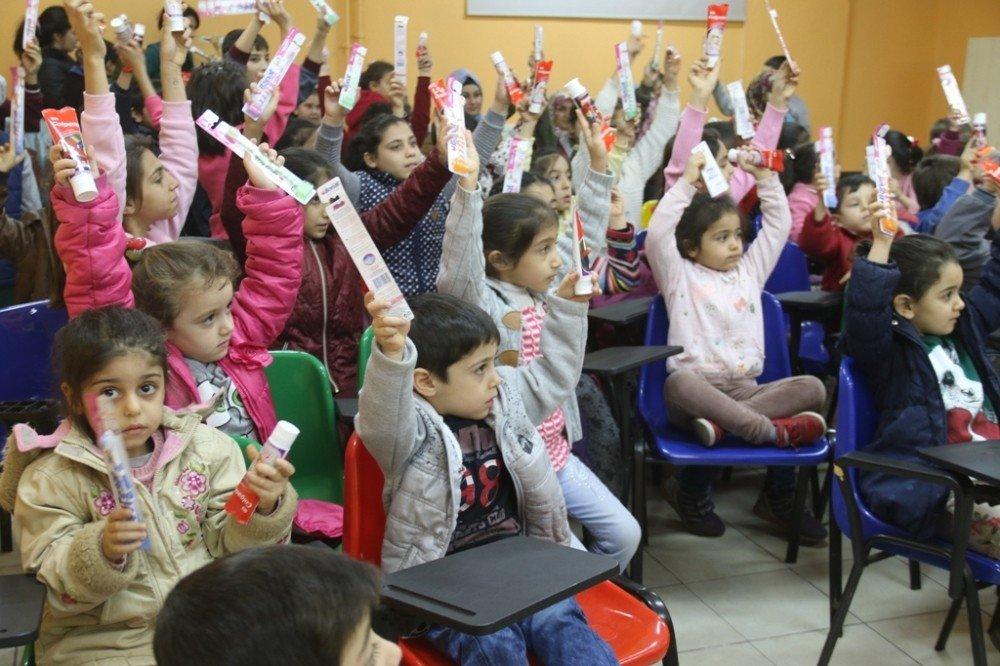 Solinli çocuklara sağlık eğitimi verildi