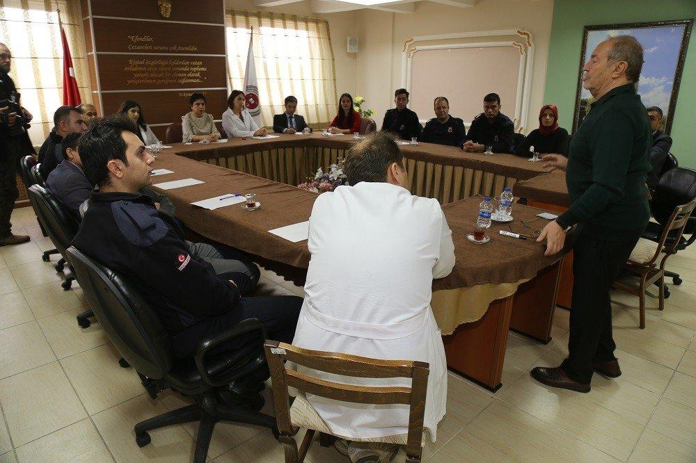 KO-MEK'ten Ceza İnfaz Kurumu personeline eğitim