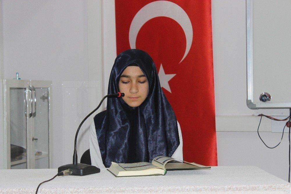 Siverek'te Kur'an-ı Kerim'i güzel okuma yarışması