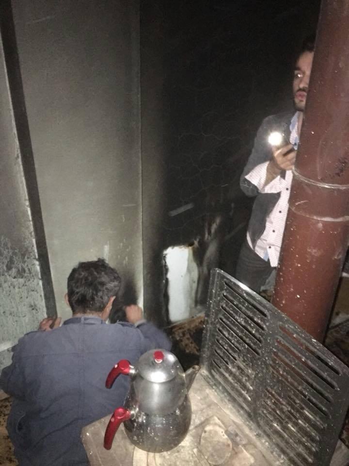 Alaplı'daki ev yangını korkuttu