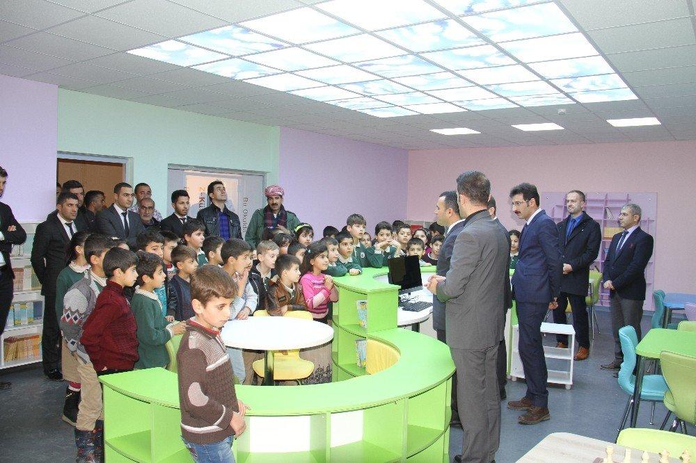 Şemdinli'de Z-Kütüphane açılışı