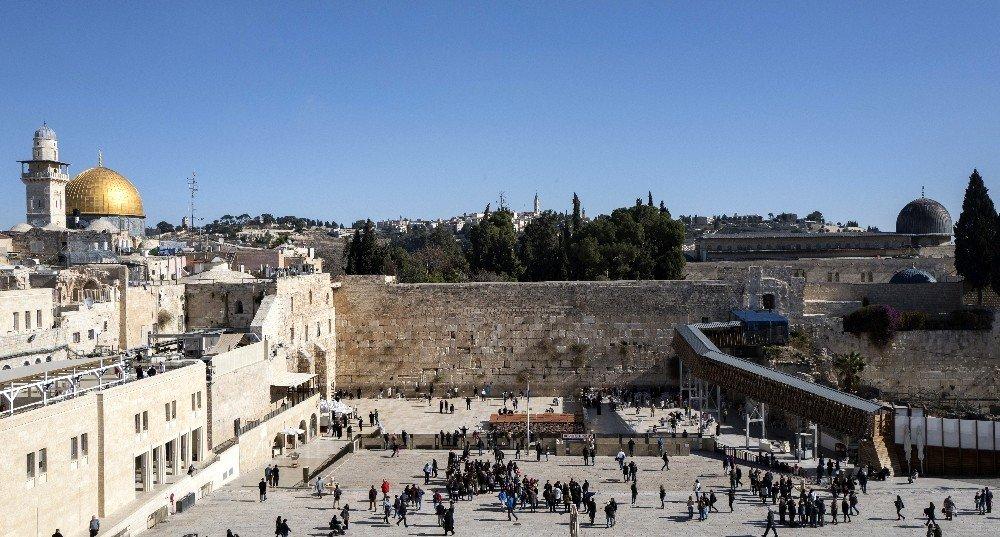 Yeni yılda Kudüs'e yoğun ilgi bekleniyor