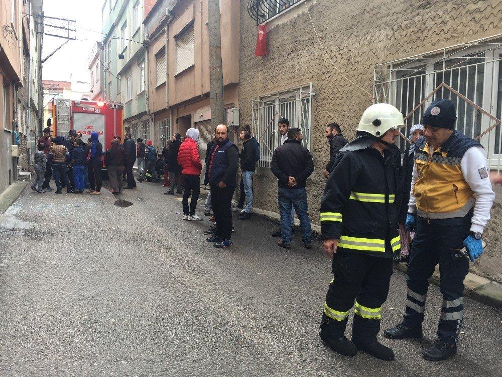 Bursa'da yangın dehşeti
