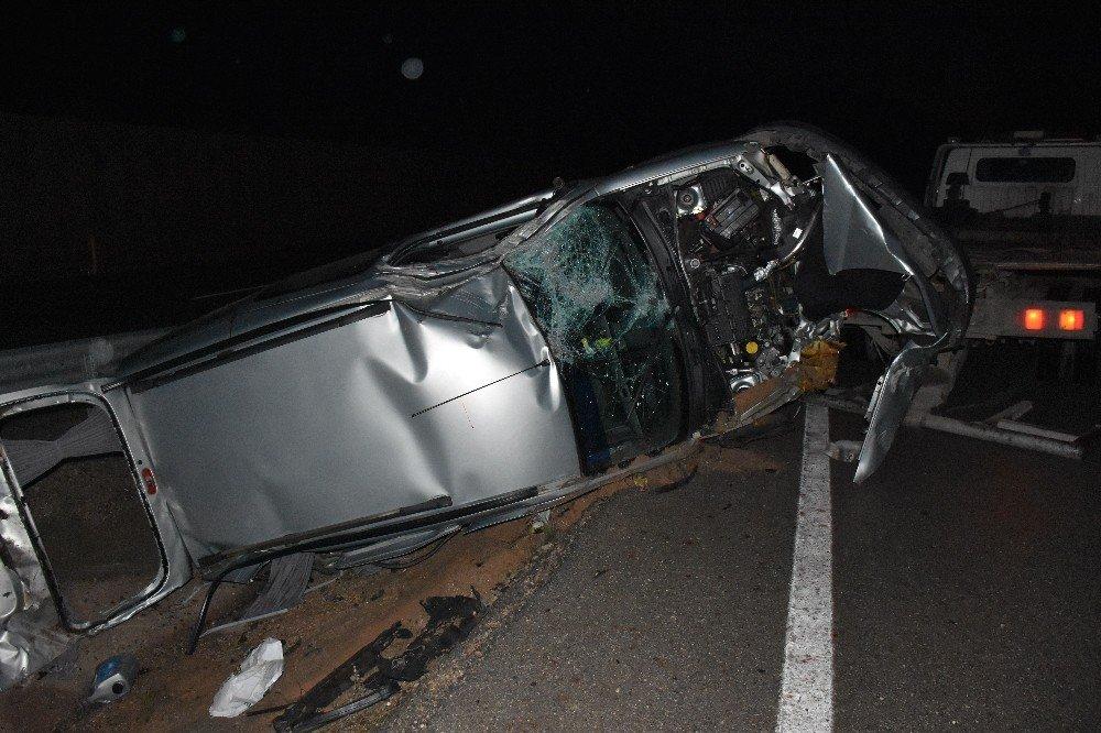 Tokat'ta yeni yılın ilk kazası: 6 yaralı