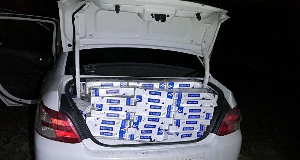 Erciş'te 8 bin 900 paket kaçak sigara ele geçirildi