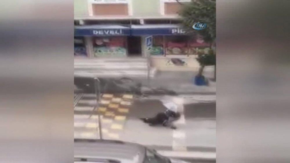 İstanbul'da soygunun ardından sıcak görüntüler