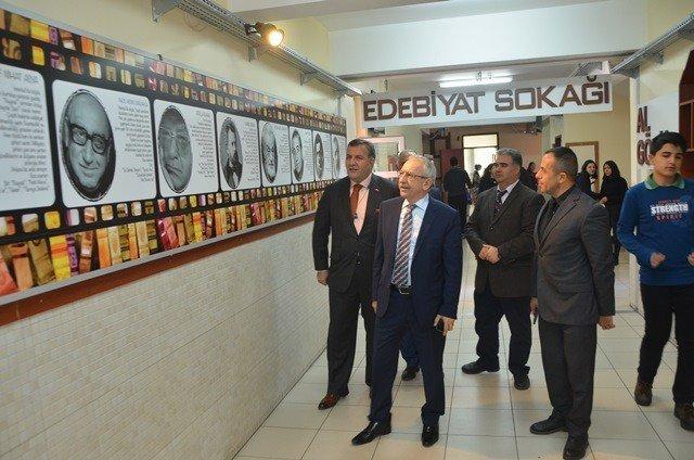 Müsteşar Yardımcısı Bilgili, Mahmut Arslan Anadolu Lisesi'ni ziyaret etti