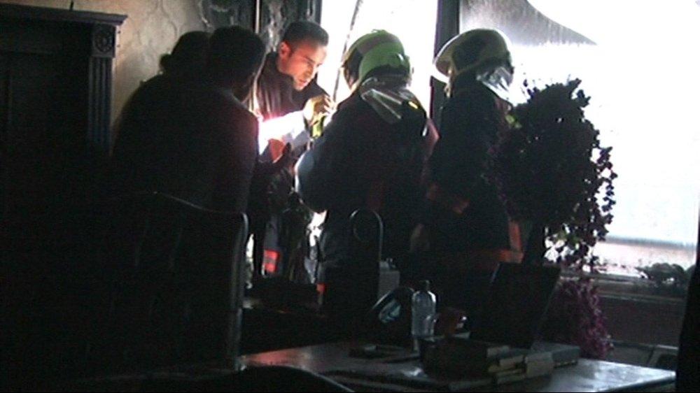 BBP Genel Merkezi'ndeki yangın söndürüldü