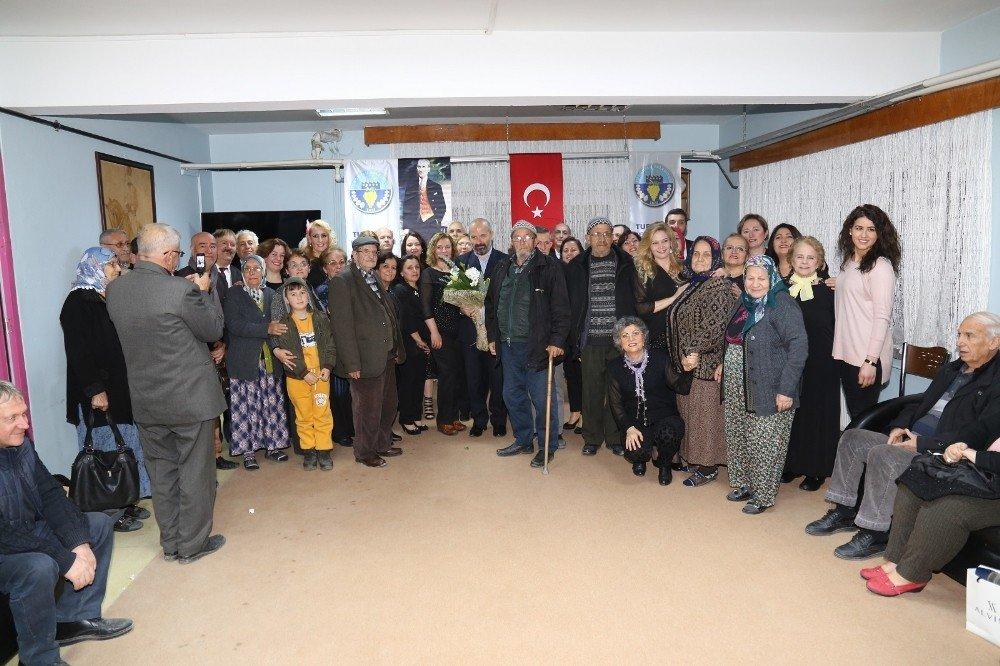 Turgutlu Belediyesinden huzurevinde muhteşem konser