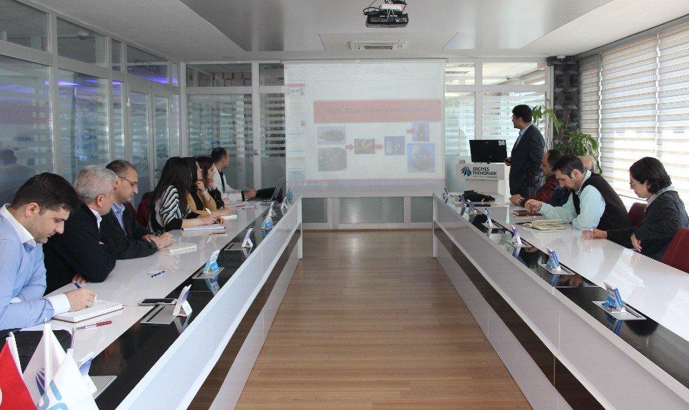 Erciyes Teknopark ile üniversite-sanayi işbirliği çalışmaları