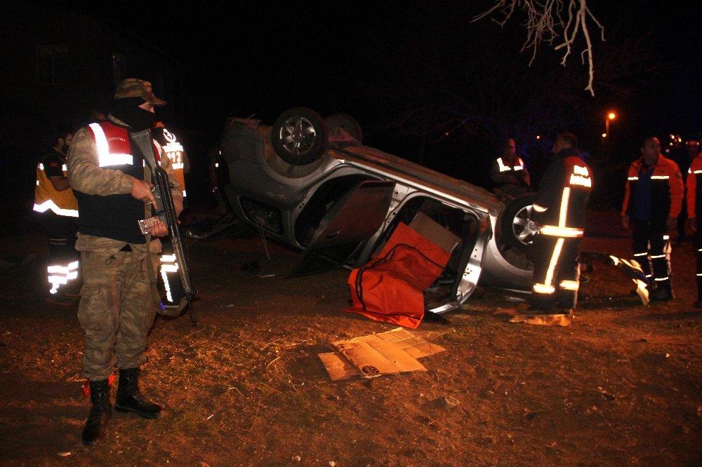 Rapor için engelli getiren polisler kaza yaptı: 1'i şehit 2 ölü