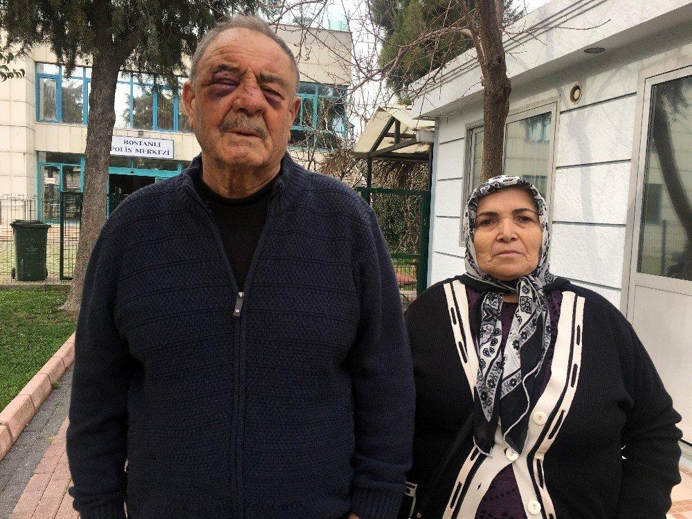 Komşusu tarafından darp edilen o yaşlı amca konuştu