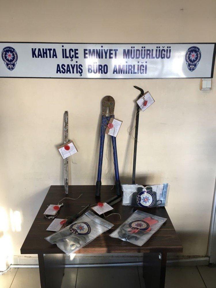Kahta'da hırsızlık çetesi çökertildi
