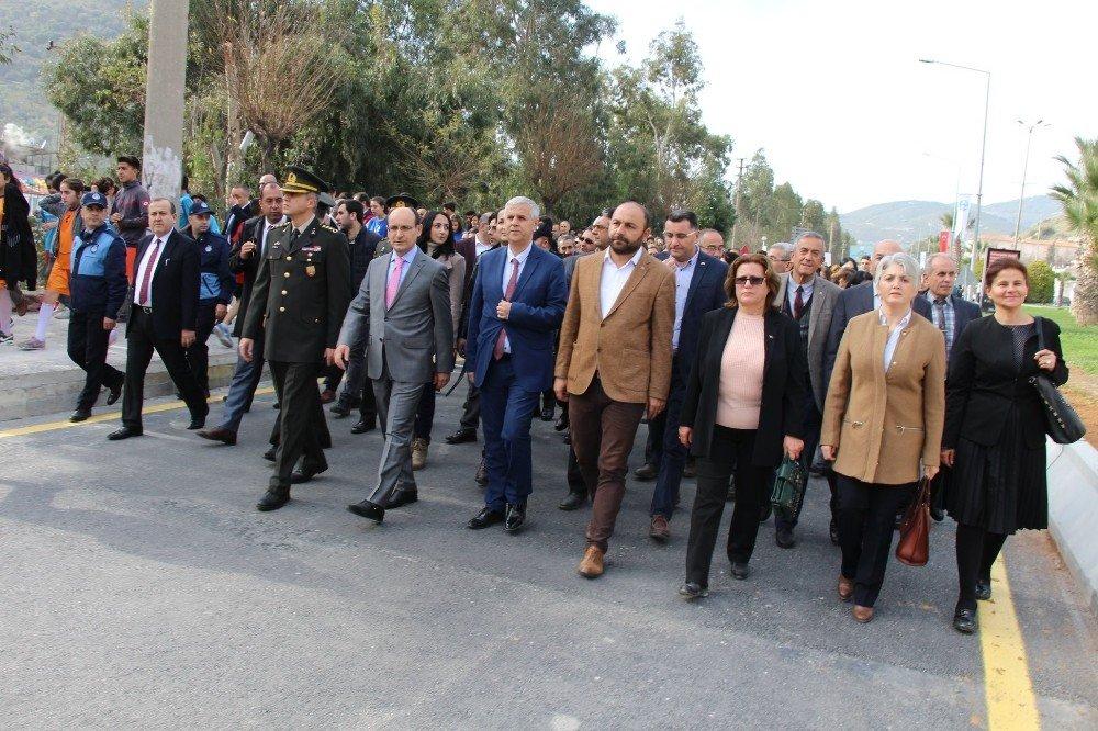 Atatürk'ün Söke'ye gelişinin 94. yıldönümü coşkuyla kutlandı