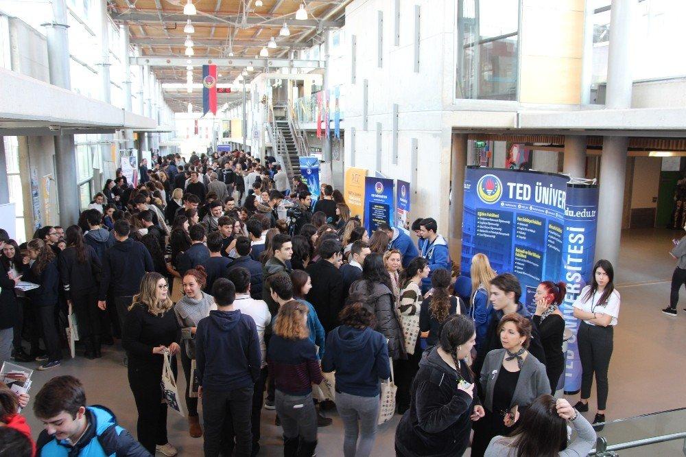 TED Koleji '14. Üniversite Tanıtım Fuarı' Başkent'te gerçekleşti