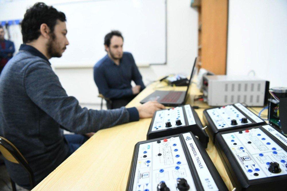 Ege Üniversitesinden yerli ve milli tıp cihazı