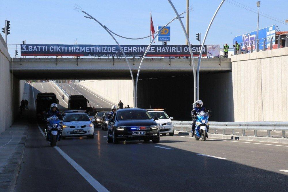 Uşak'ın 3. battı çıktısı trafiğe açıldı
