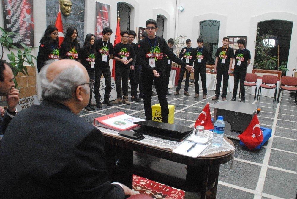 Türkiye'yi temsil edecek Aydınlı öğrenciler Vali'den tam not aldı