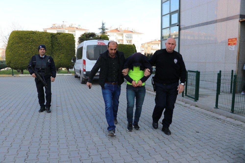 Denizli'de yaşlı çifti darp eden şüpheli gözaltına alındı