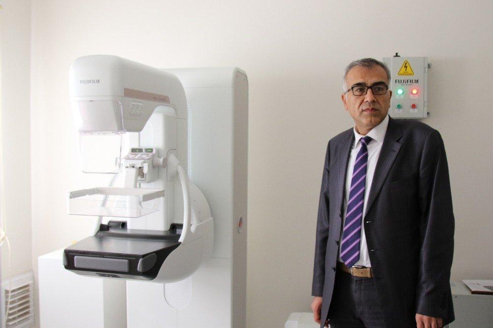 KETEM'e mamografi cihazı alındı