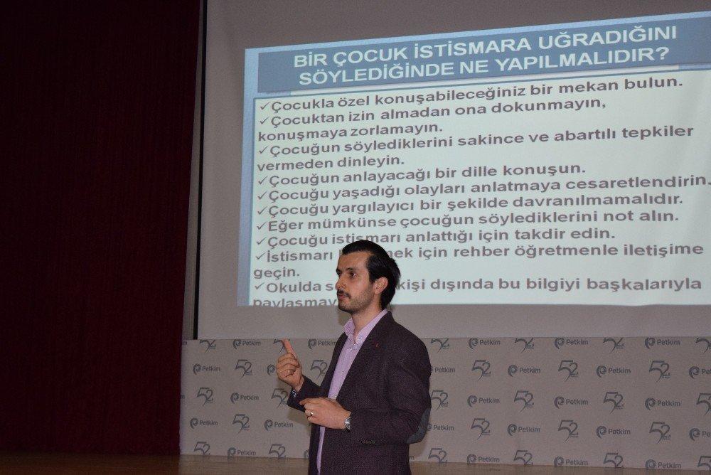 Aliağa'da 'İstismar ve Önlemleri' konulu seminer