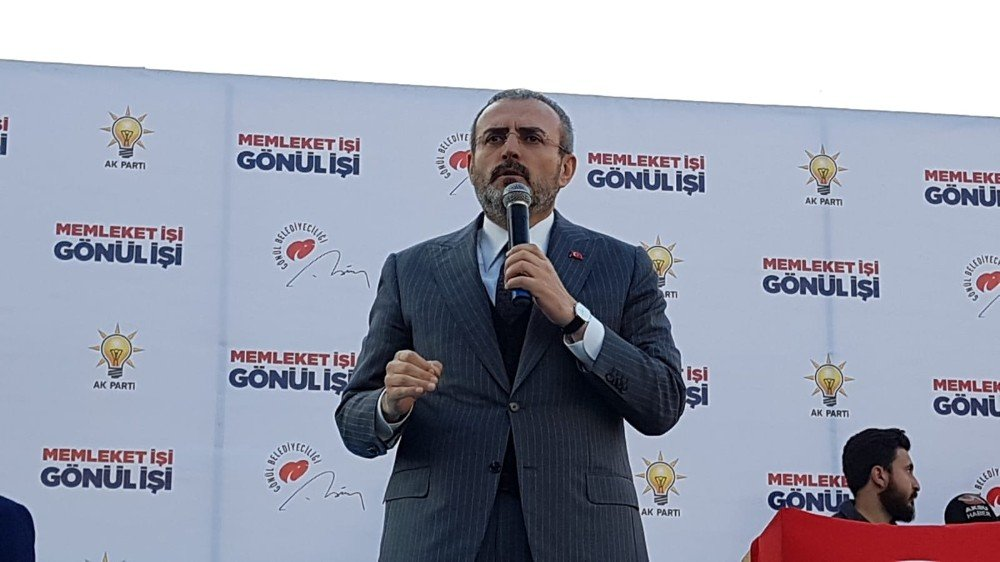 Ak Parti Genel Başkan Yardımcısı Ünal Kılıçdaroğlu'na Osmaniye'den yüklendi