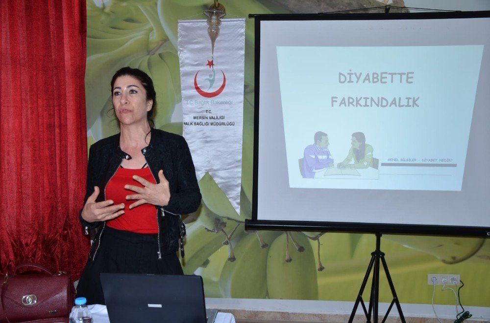 Bozyazı'da Sağlık Personeline 'Diyabette Öz Bakım' Eğitimi Verildi
