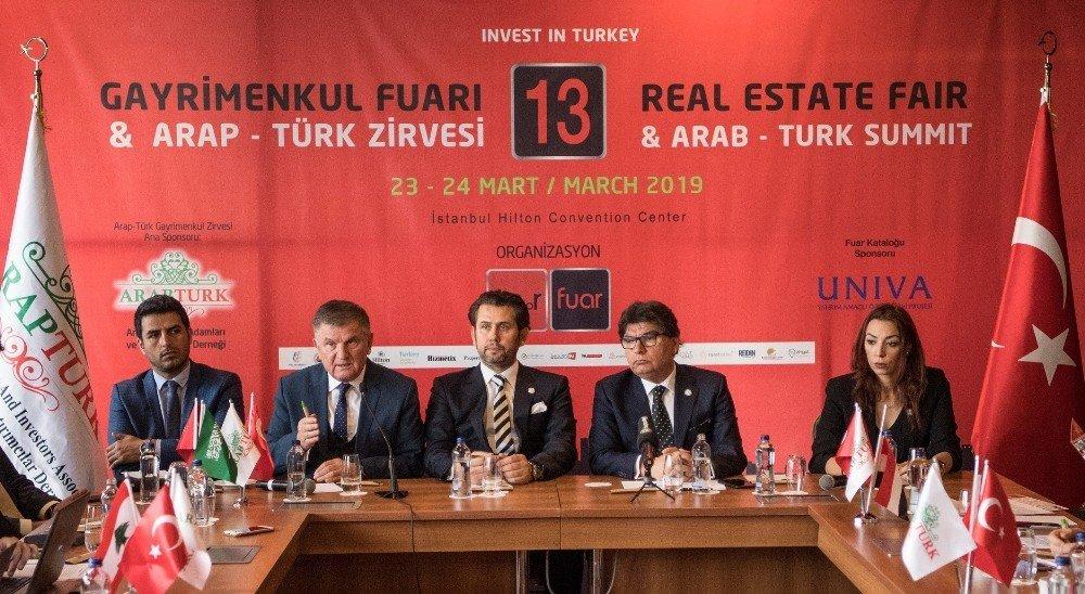 Türk Gayrimenkul Sektörü İle Yabancı Alıcılar Buluşacak