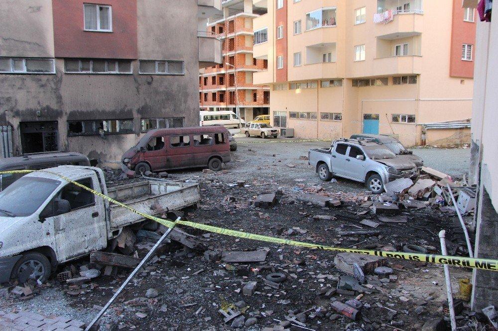 Trabzon'da Patlamanın Boyutu Gün Ağarınca Ortaya Çıktı