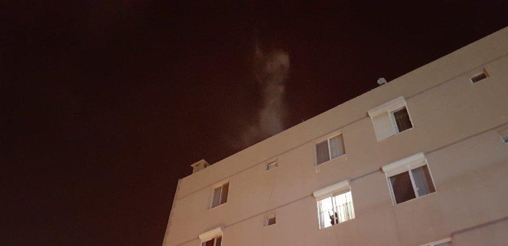 Kuşadası'nda Yangın Korkuttu
