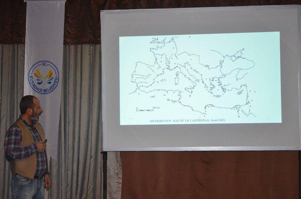 Kuşadası'nda Ortaçağ Çanak Ve Çömlekçiliği İçin Sempozyum Düzenlendi