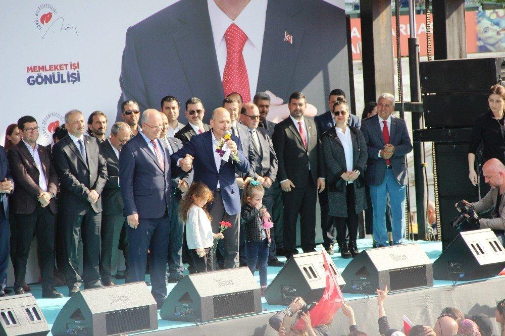 """İç İşleri Bakanı Süleyman Soylu; """"Bodrum'un Ve Belediye Başkan Adayımız Tahir Ateş'in Emrindeyim"""""""