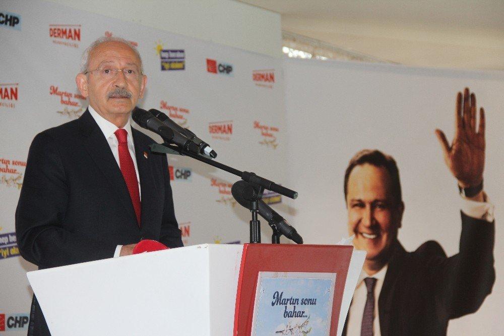 Chp Genel Başkanı Kılıçdaroğlu, Giresun'da Stk Temsilcileri, Muhtarlar Ve Partililer İle Bir Araya Geldi