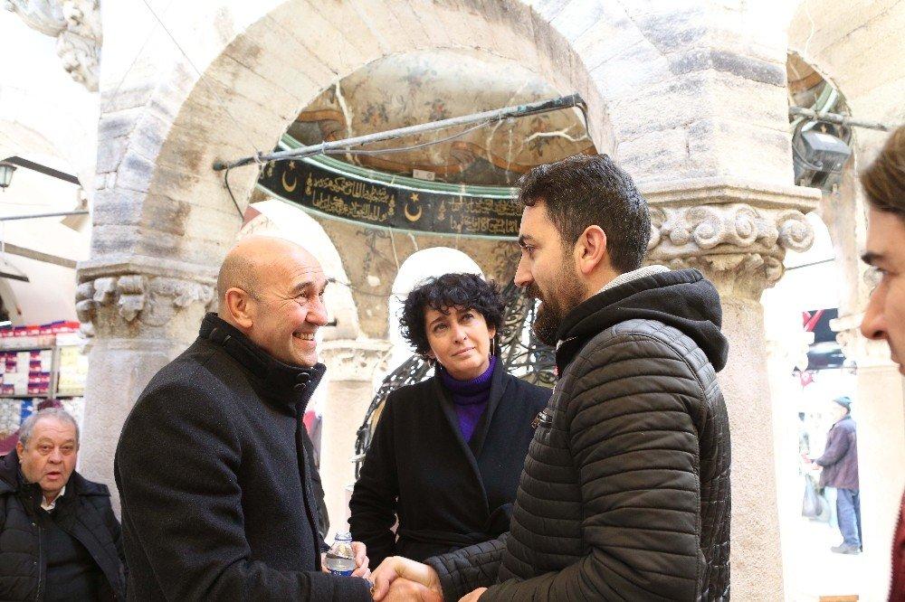 """Soyer: """"Kemeraltı'nın Unesco Dünya Kültür Mirası Olmasını Sağlayacağız"""""""