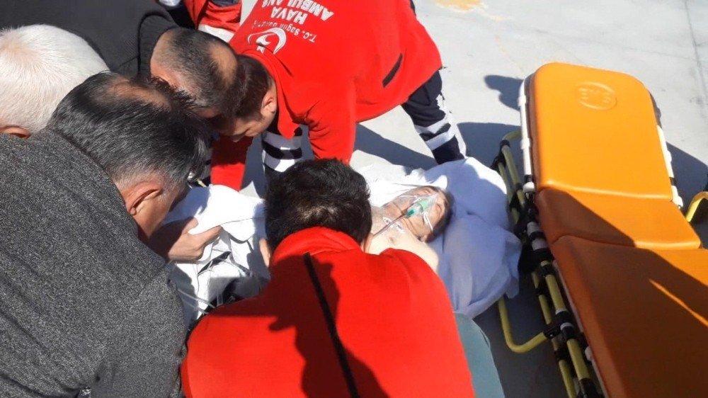 Yahyalı'dan 15 Dakikada Getirilen Kalp Hastası Kayseri Şehir Hastanesinde Tedavi Oldu
