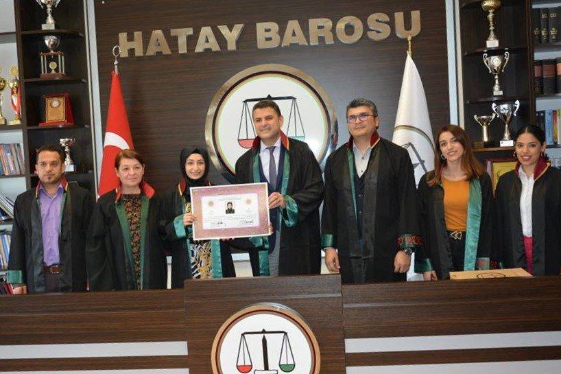 Hatay Barosu'na Taze Kan