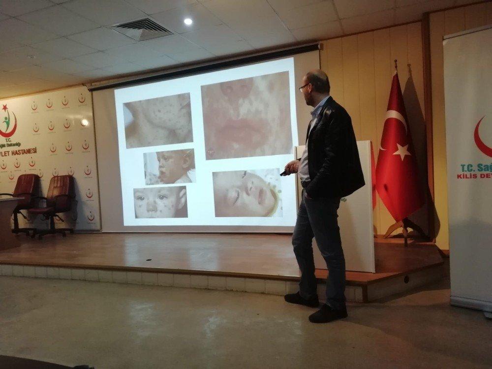 Kilis'te Kızamık Ve Kuduzla Mücadele Anlatıldı
