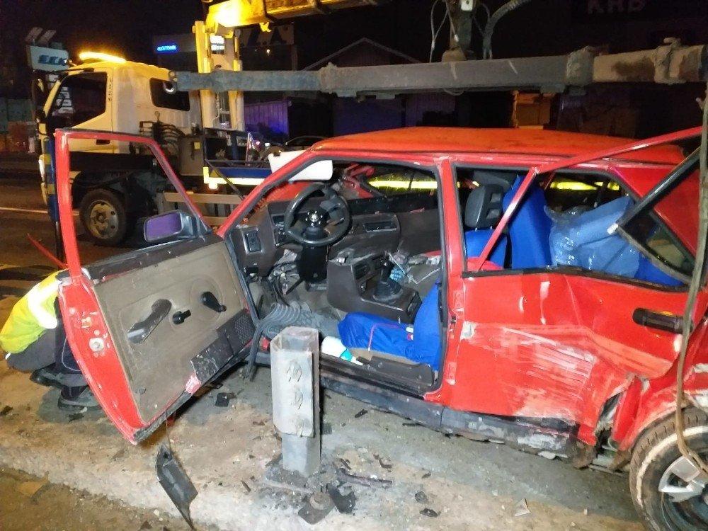 Başkentte Korkutan Kaza: 3 Yaralı