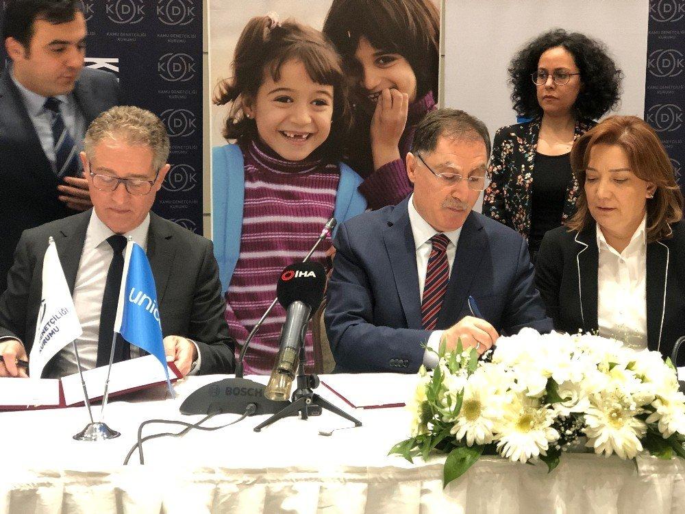Kdk Ve Unıcef'ten Çocuk Hakları İçin Toplantı